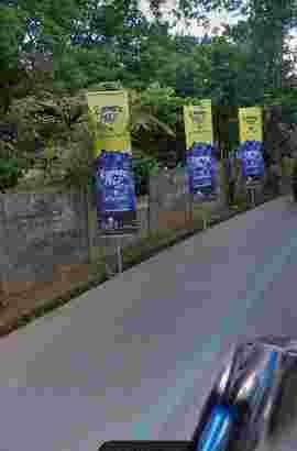 di jual /termin tanah pinggir jalan Raya kodau jati mekar jati asih kota bekasi
