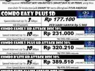Jasa Pemasangan Firstmedia ( wifi unlimited & Channel TV kabel Kualitas HD )