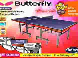 Tenis Meja Pingpong Butterfly tebal 25 mm