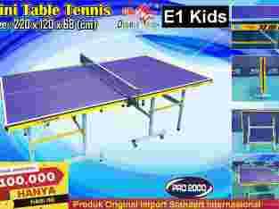 Tenis Meja Pingpong Mini merk Double Fish E1 Kids