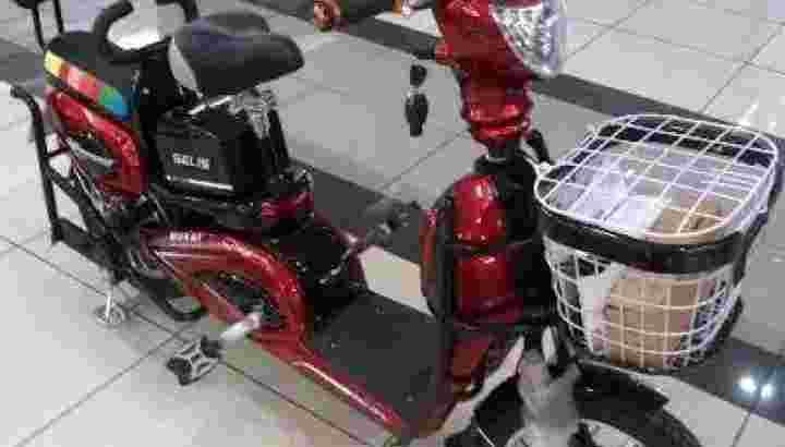 Sepeda Motor Listrik Selis Hornet
