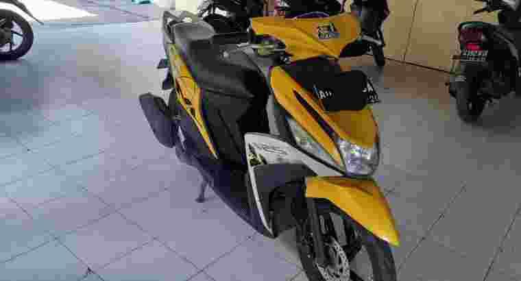 Jual Mio m3 kuning 2015
