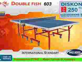 Tenis meja ping pong merk DOUBLEFISH 603
