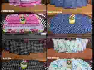 Set sarung bantal sofa