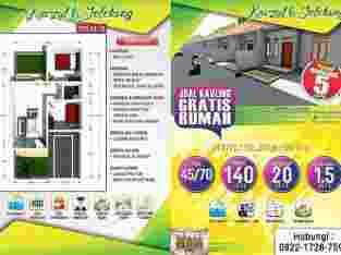 Dijual 40unit Perum KavZul Jelekong 45/70 cm 110jt
