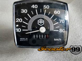 Speedometer Vespa 50, 80km/h