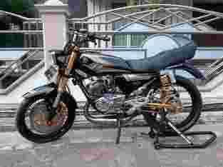 jual motor RX King 135CC tahun 2004 Full modifikasi