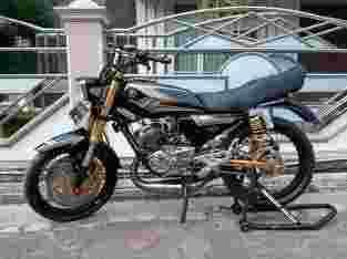 Di jual motor RX-King THN 2004.