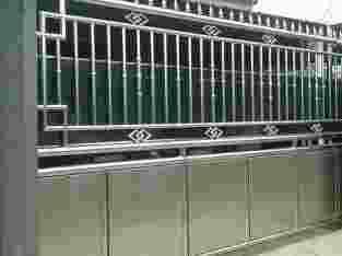 Pintu pagar stainles steel