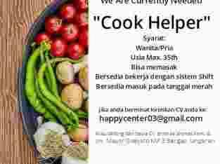 Dibutuhkan Front Office dan Cooking Helper