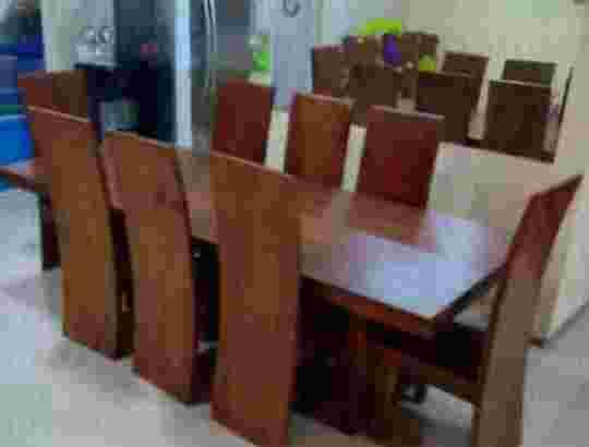 set kursi makan trembesi