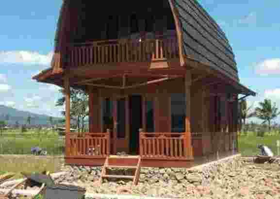 Rumah kayu knock down