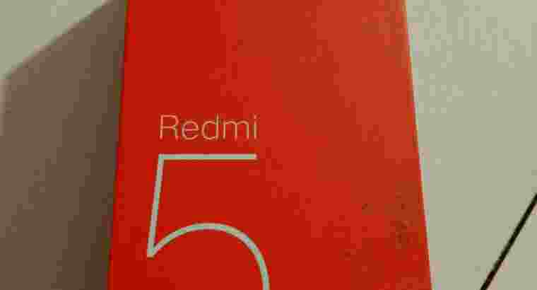 Hp xiaomi redmi 5 plus 4/64 warna gold