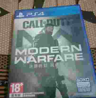 BD PS4 Call of Duty Modern Warfare Reg3