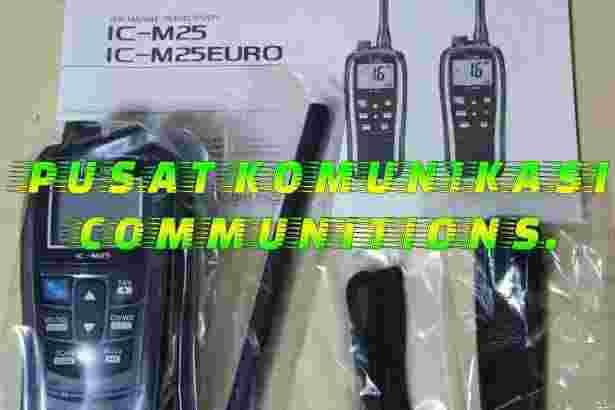 HT Icom IC-M25 M 25 VHF RadioMarine Tranceiver waterproof IPX7 radio M25