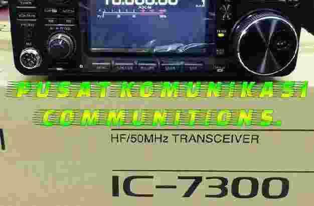 Hf Transceiver Icom Ic-7300 Baru Garansi 1Tahun Ic7300 SSB+Tuner