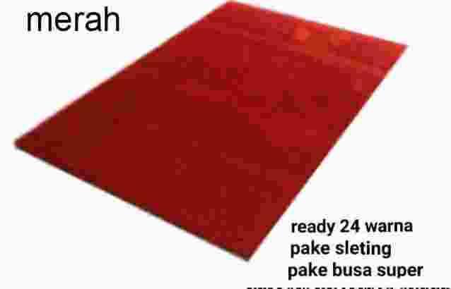 karpet bulu 100x150x2cm NON SLIP