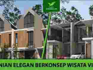 Rumah Villa Murah Dkt Jatim Park Green Darussalam