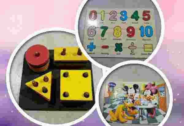 Puzzle Paket untuk Anak-anak