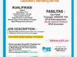 LOKER MARKETING LABORATORIUM