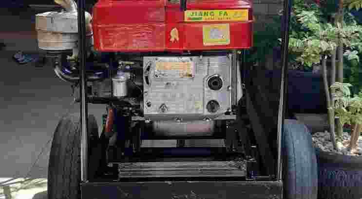jenset bekas 10000watt mesin 24peka cirebon089671332332