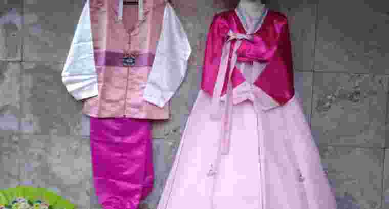 hanbok korea couple