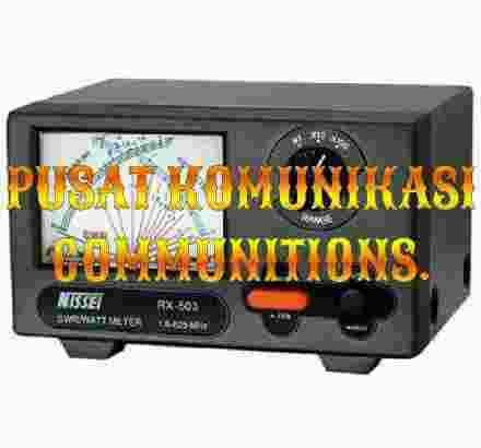 Nissei RX-503 SWR Watt Meter 1,8-525MHz Ori Baru 200W Radio Rig RX503