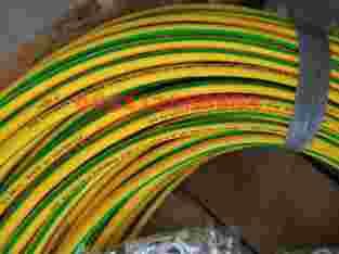 Kabel power LV NYAF 16 green yellow