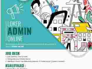 lowongan Admin Online