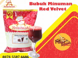 Red Velvet Bubuk Minuman