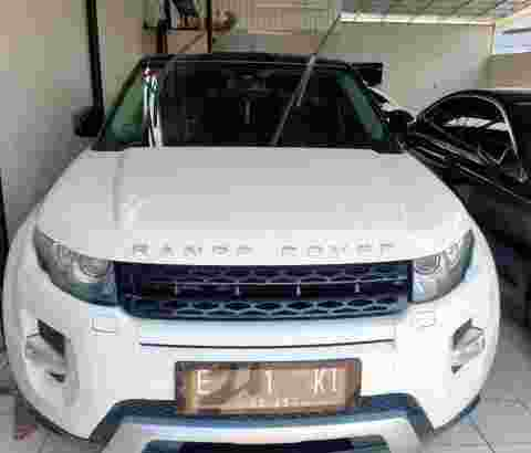 Range Rover Evoque Luxury Dinamic 2012