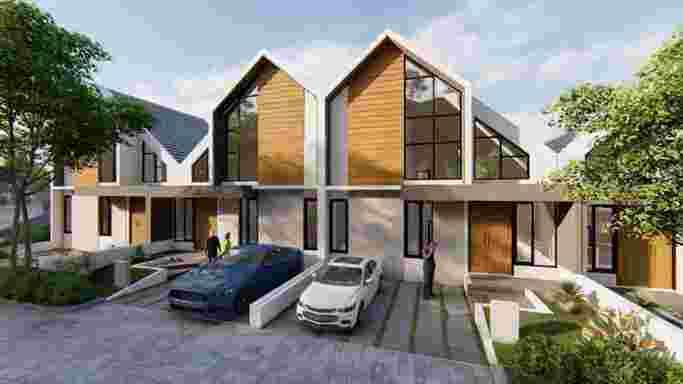 Rumah Mewah 2 lantai Semarang Ngaliyan Sky Mansion Horizon