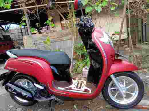 JUAL MOTOR NEW SCOOPY STYLISH STNK ONLY