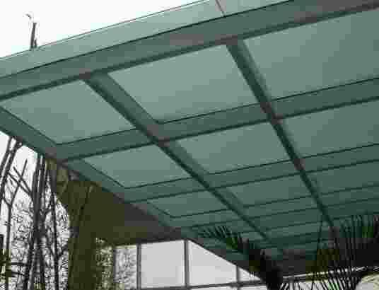 Canopy kaca polos