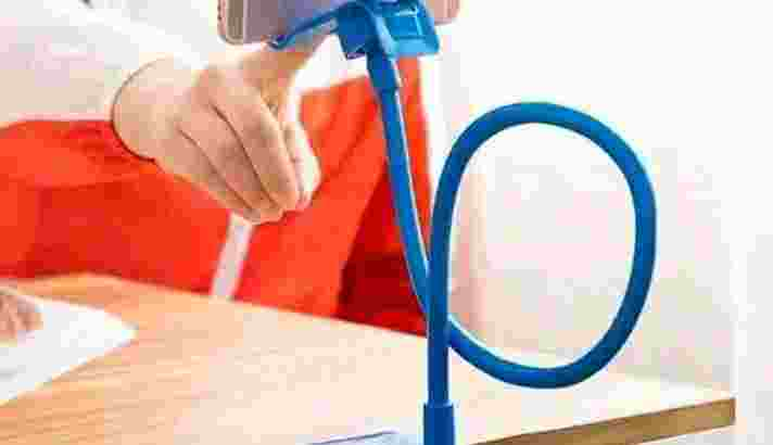 DISC 10% Lazypod Penjepit Hp Untuk Belajar Di Rumah