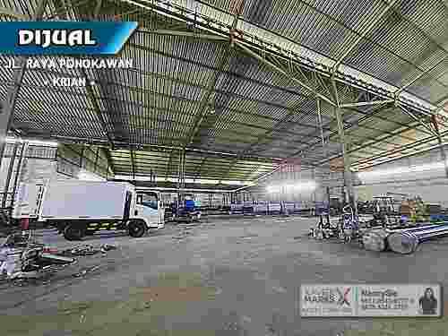 Industrial Buildings Raya Ponokawan Krian Sidoarjo