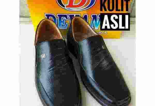 Pantofel 914 kulit asli