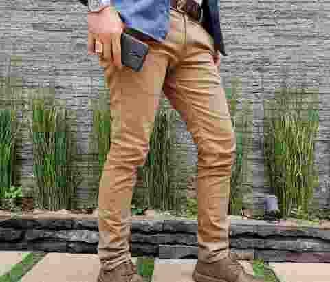 celana panjang Chino pria