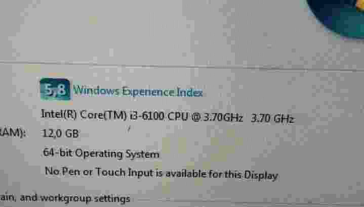 Ready 1 set komputer DDR4 intel i3-6100-gin6 4cores siap pakai bosku 😘💯