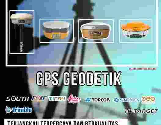 Rental gps geodetik dan GPS RTK