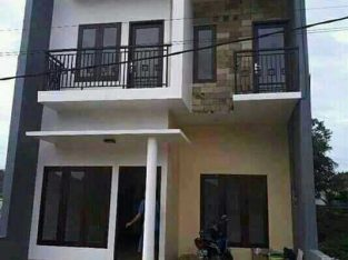 Rumah hunian bebas banjir dan strategis promo akhir tahun type 50/60 2lantai harga 230jtan free design dan SHM