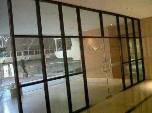 kusen aluminium pintu jendela dan kac