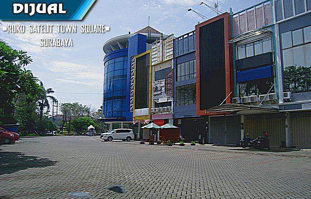 Ruko Satelit Town Square, Sukomanunggal, Surabaya