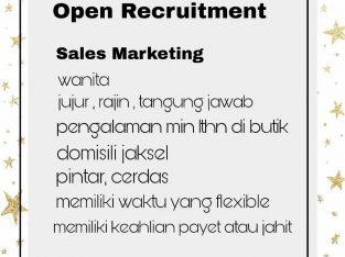 Di cari sales marketing wanita