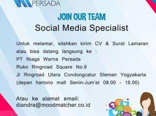 Loker Social Media Specialist