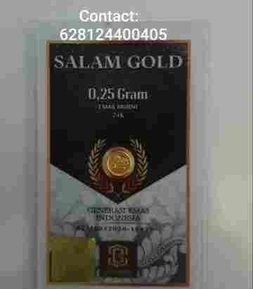 salam gold 0.25gr 24 karat (Daily Update)