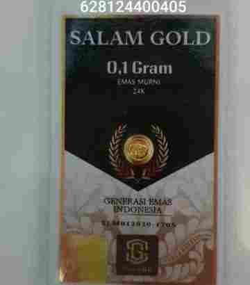 salam gold 0.50gr 24 karat (Daily Update)