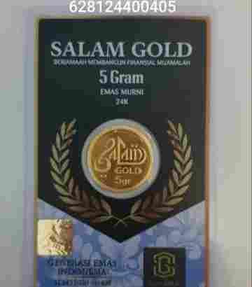 salam gold 2.5gr 24 karat (Daily Update)