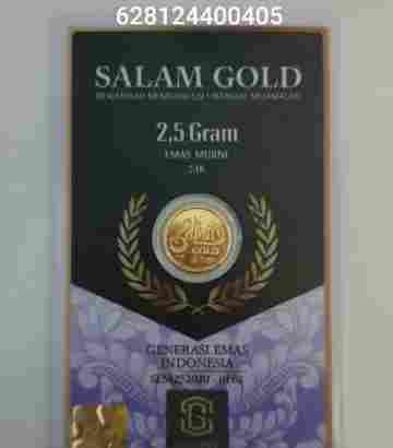 salam gold 5gr 24 karat (Daily Update)