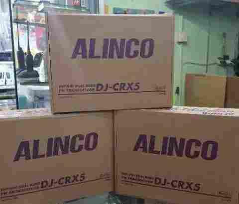 HT Alinco DJ CRX 5 / Jual HT Alinco DJ-CRX5 Dual Band RESMI..